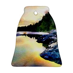 Stunning Nature Evening Bell Ornament (2 Sides)