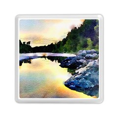 Stunning Nature Evening Memory Card Reader (Square)