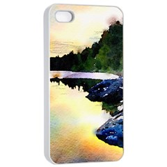 Stunning Nature Evening Apple Iphone 4/4s Seamless Case (white)