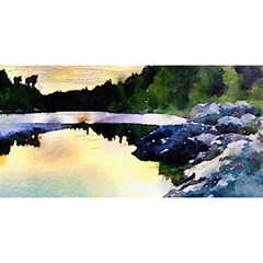 Stunning Nature Evening YOU ARE INVITED 3D Greeting Card (8x4)