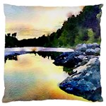Stunning Nature Evening Standard Flano Cushion Cases (One Side)  Front