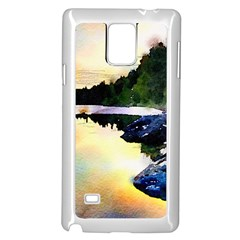 Stunning Nature Evening Samsung Galaxy Note 4 Case (White)