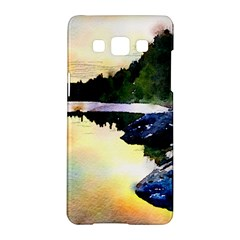 Stunning Nature Evening Samsung Galaxy A5 Hardshell Case