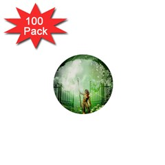 The Gate In The Magical World 1  Mini Buttons (100 Pack)