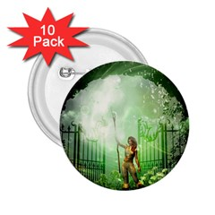 The Gate In The Magical World 2 25  Buttons (10 Pack)