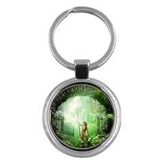 The Gate In The Magical World Key Chains (round)