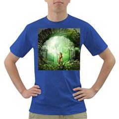 The Gate In The Magical World Dark T Shirt