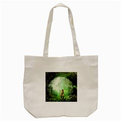The Gate In The Magical World Tote Bag (Cream)