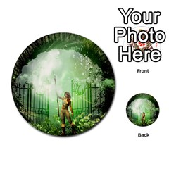 The Gate In The Magical World Multi-purpose Cards (Round)