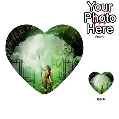 The Gate In The Magical World Multi-purpose Cards (Heart)
