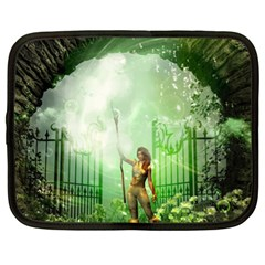 The Gate In The Magical World Netbook Case (xl)