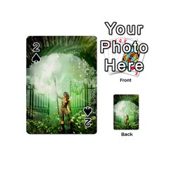 The Gate In The Magical World Playing Cards 54 (Mini)