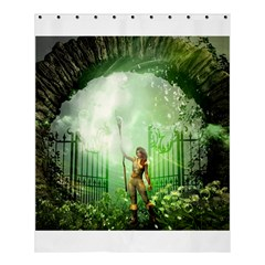 The Gate In The Magical World Shower Curtain 60  x 72  (Medium)