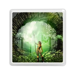 The Gate In The Magical World Memory Card Reader (Square)