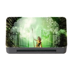 The Gate In The Magical World Memory Card Reader with CF