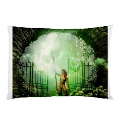 The Gate In The Magical World Pillow Cases (Two Sides)