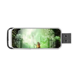 The Gate In The Magical World Portable USB Flash (One Side)