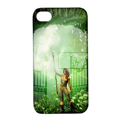The Gate In The Magical World Apple Iphone 4/4s Hardshell Case With Stand