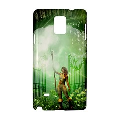 The Gate In The Magical World Samsung Galaxy Note 4 Hardshell Case