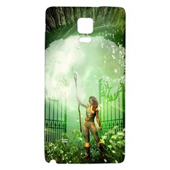 The Gate In The Magical World Galaxy Note 4 Back Case