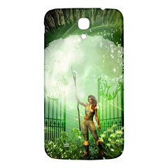 The Gate In The Magical World Samsung Galaxy Mega I9200 Hardshell Back Case