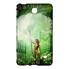 The Gate In The Magical World Samsung Galaxy Tab 4 (7 ) Hardshell Case