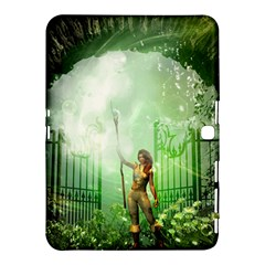 The Gate In The Magical World Samsung Galaxy Tab 4 (10.1 ) Hardshell Case