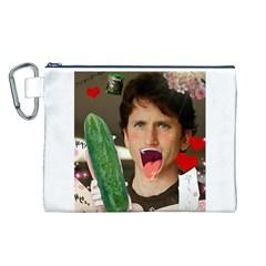 1443925651325 Canvas Cosmetic Bag (L)