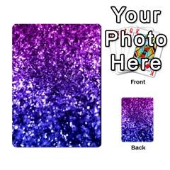 Midnight Glitter Multi-purpose Cards (Rectangle)