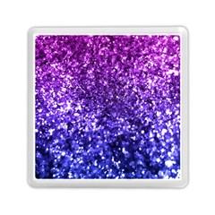 Midnight Glitter Memory Card Reader (square)