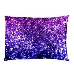 Midnight Glitter Pillow Cases (two Sides)