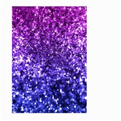 Midnight Glitter Large Garden Flag (Two Sides)