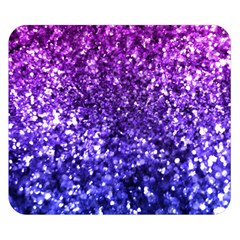 Midnight Glitter Double Sided Flano Blanket (Small)