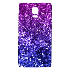 Midnight Glitter Galaxy Note 4 Back Case