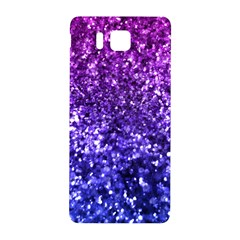 Midnight Glitter Samsung Galaxy Alpha Hardshell Back Case