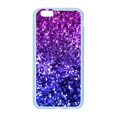 Midnight Glitter Apple Seamless iPhone 6 Case (Color)