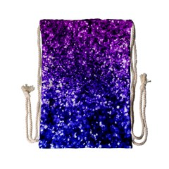 Midnight Glitter Drawstring Bag (Small)