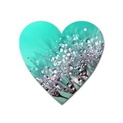Dandelion 2015 0701 Heart Magnet