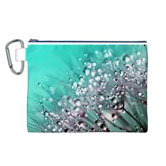 Dandelion 2015 0701 Canvas Cosmetic Bag (L)