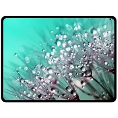 Dandelion 2015 0701 Double Sided Fleece Blanket (Large)