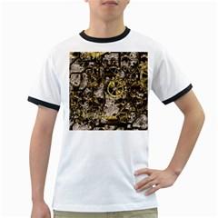Metal Steampunk  Ringer T-Shirts