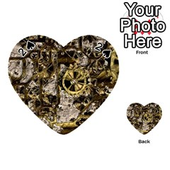 Metal Steampunk  Playing Cards 54 (Heart)
