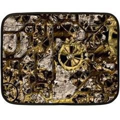 Metal Steampunk  Fleece Blanket (Mini)