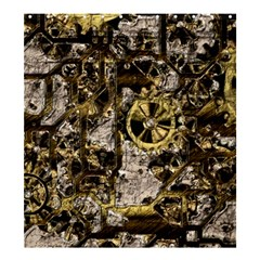 Metal Steampunk  Shower Curtain 66  x 72  (Large)