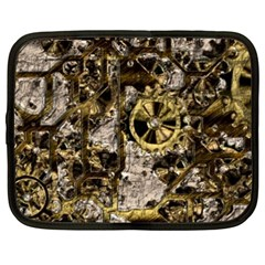Metal Steampunk  Netbook Case (xxl)