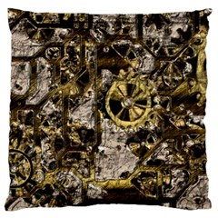 Metal Steampunk  Large Cushion Cases (two Sides)