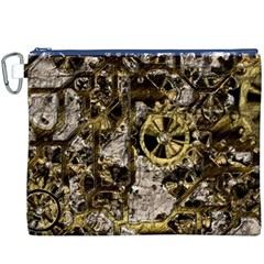 Metal Steampunk  Canvas Cosmetic Bag (XXXL)