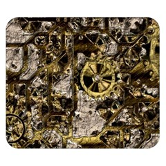 Metal Steampunk  Double Sided Flano Blanket (Small)
