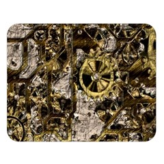 Metal Steampunk  Double Sided Flano Blanket (Large)