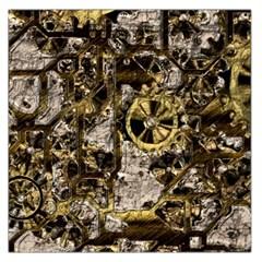 Metal Steampunk  Large Satin Scarf (Square)